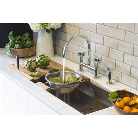 kallista sinks kitchen kallista one bridge faucet 2069