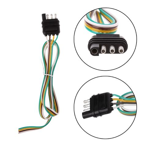 6 Pin Trailer Light Wiring by Car 6 24v Trailer Light Wiring Harness Extension 4 Pin