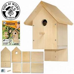 Vogelhaus Bauen Mit Kindern : vogelhaus bausatz f r kinder ab 8 jahren corvus toys ~ Lizthompson.info Haus und Dekorationen