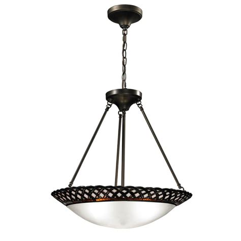 inverted pendant light springdale lighting hillcrest 3 light bronze inverted