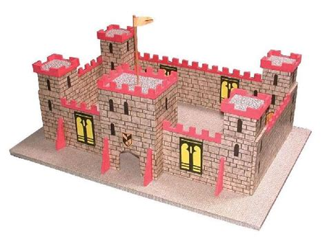 Toy wooden castles and forts for sale, christmas gift ideas for boys. Hobbies Toy Castle Plan Fittings and Wood Pack | Hobbies