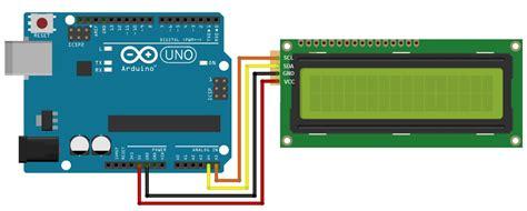 lcd i2c tutorial arduino project hub