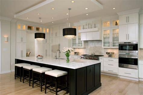 spectacular black  white kitchen ideas   apply