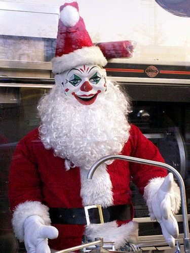 scary santa claus pictures scary  kids