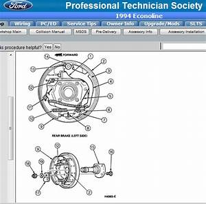 Ford Focus Emergency Brake Diagram