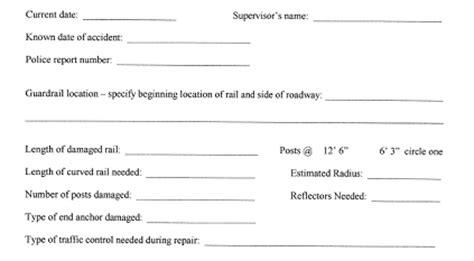 beam guardrail repair guide safety federal highway