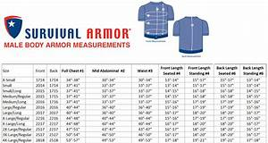 Survival Armor Men 39 S Falcon 6 Concealable Vests