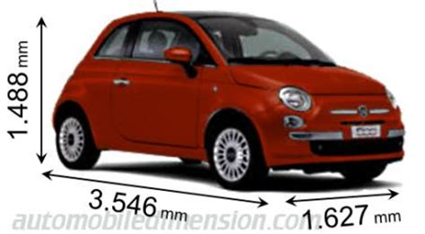 Fiat 500 Length by Fiat 500c Length 2017 Ototrends Net