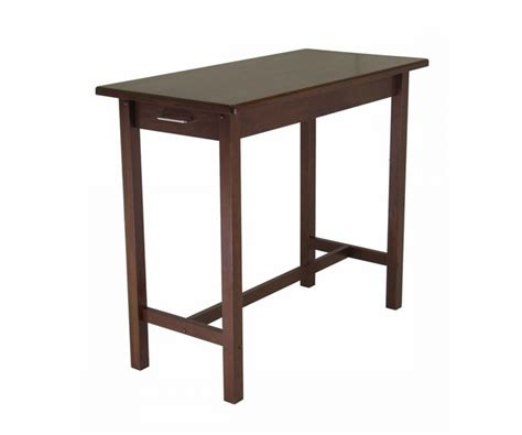 Winsome Wood 94540 Table Kitchen Island The Maine Dining Room Tables Farmhouse Style West Elm Blue Grey Bar Sets Standard Size Pictures Of Furniture G Plan