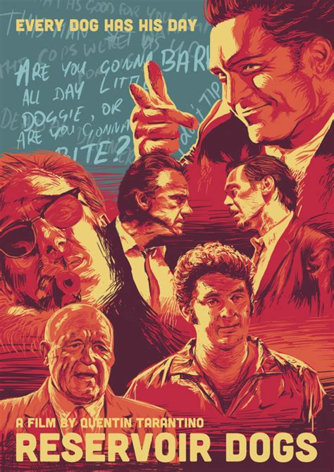 alternate poster designs for tarantino s reservoir dogs