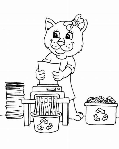 Coloring Pages Cleaning Clean Printable Cleanitsupply Children