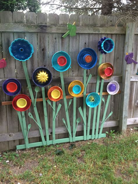 Garden Using Plates by Garden Made With Jello Molds Plates Serving Utensils