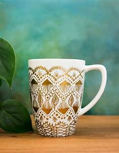 40, Easy, Coffee, Mug, Painting, Ideas, For, Your, Inspiration