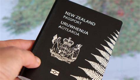 zealand passport ranks   worlds  powerful