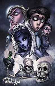 Corpse Bride Character Collage by TimareeZadel on DeviantArt