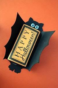 18 crafty halloween bat templates tip junkie With bat candy bar wrapper template