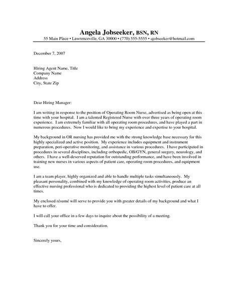 cover letter nursing experienced registered cover letter resume cover 8198