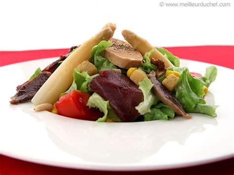 cuisine landaise salade landaise la recette avec photos meilleurduchef com