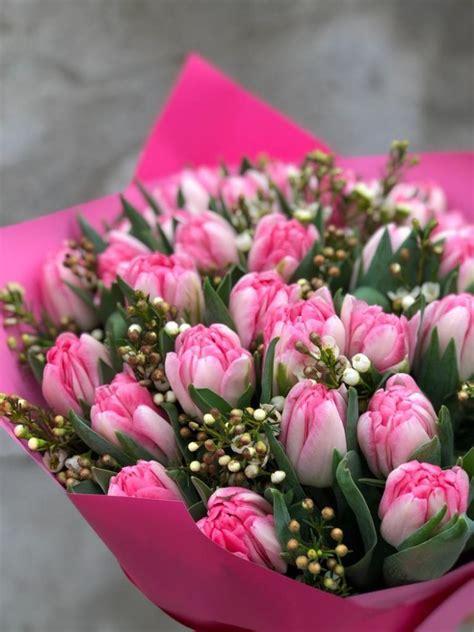 Ziedu pušķis PINK FOXTROT