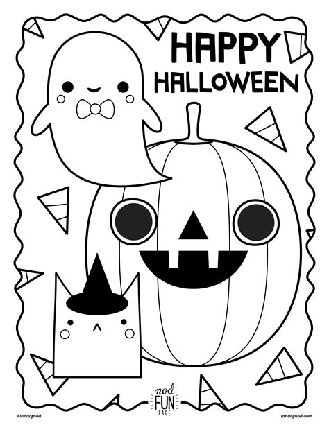 Free Printable Halloween Coloring Page Crate&Kids Blog