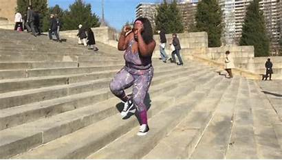 Step Workout Natural Curves Rocky Gifs Down