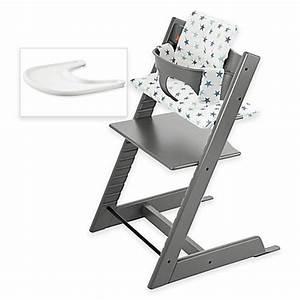 Stokke Tripp Trapp Höhe Verstellen : stokke tripp trapp high chair complete bundle in storm grey bed bath beyond ~ Markanthonyermac.com Haus und Dekorationen