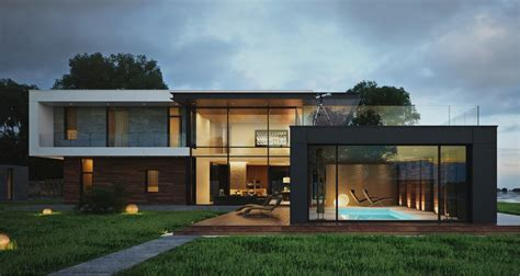 modern house design provides a great look of the home boshdesigns com