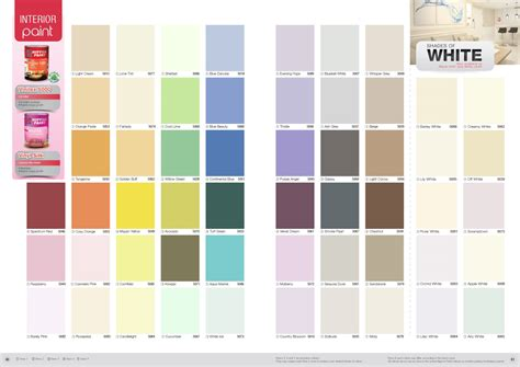 nippon paint vinilex 5000 colour chart nippon paint