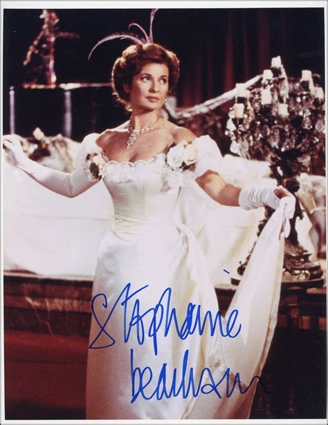 STEPHANIE BEACHAM - Lovely AUTOGRAPH Signed 8x10 Photo