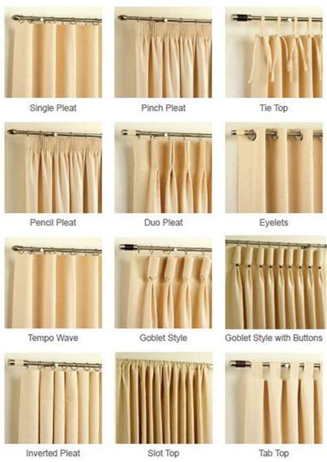 curtain styles ideas  pinterest curtains