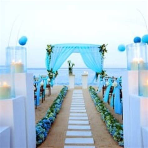 awesome blue beach wedding ideas wedding