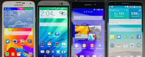 Best 2014 Android The Best Android Phones Of 2014 Techspot