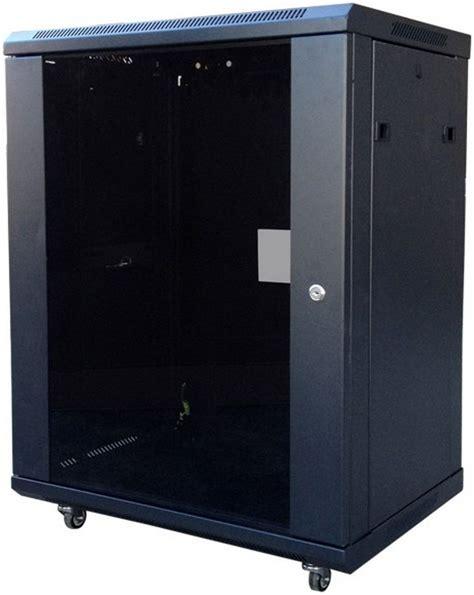 wall mount cabinet rc226u wall mount cabinets glass door 4u to 15u