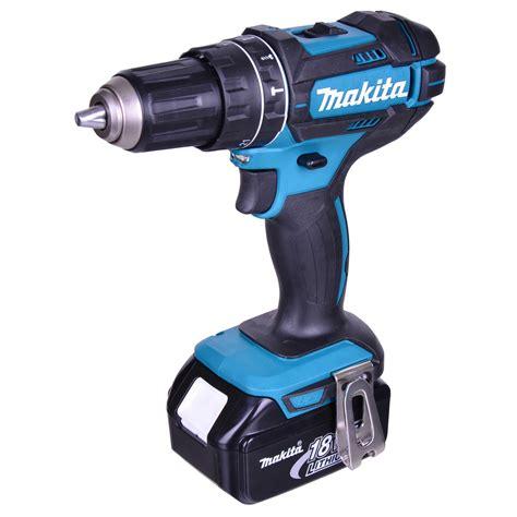 makita multifunktionswerkzeug 18v makita dhp482rjx makita 18v li ion lxt hammer drill driver