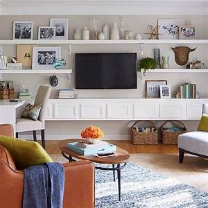 25 best ideas about tv wall shelves on pinterest for Kitchen cabinets lowes with hanging heavy wall art