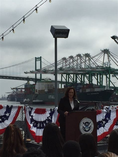 At naturalization ceremony and healthcare rally, Kamala