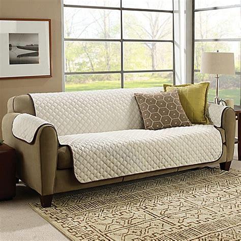 astv couchcoat furniture cover  crowncream bed bath
