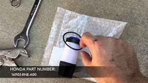 How To Change Your 2006-2011 Honda Civic Gx Cng Low Pressure Fuel Filter
