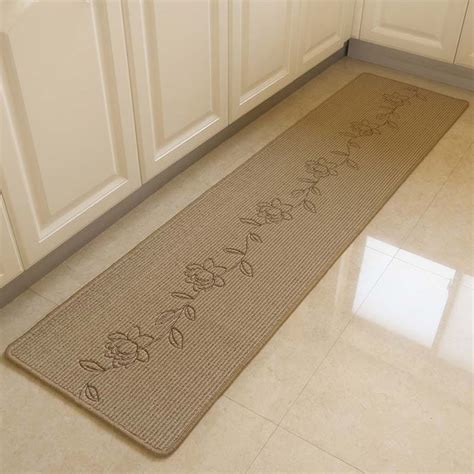 Washable Living Room Area Rugs by Durable Embroidery Bedroom Floor Mat Anti Slip