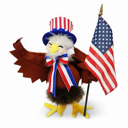 Annalee Patriotic Dolls Assembled America