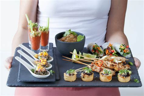 canape platters canapés ideas mini caramelised and brie tartlets