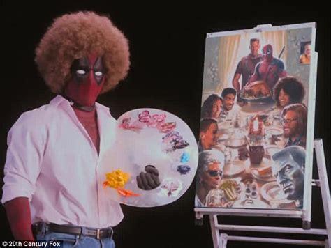 Ryan Reynolds Impersonates Bob Ross In Deadpool 2 Teaser