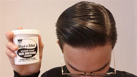 Black & White Genuine Pluko Hair Dressing Pomade Review