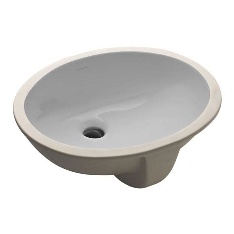 home depot bathroom sinks avanity undermount bathroom sink in linen cum18ln the