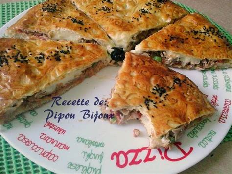 pate a pizza arabe pizza couverte a la pate magique amour de cuisine