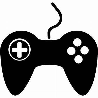 Gamepad Icons Icon Controller Joystick Vector Silhouette