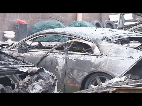 Moscow Luxury Car Collection Destroyed In Suspected Arson