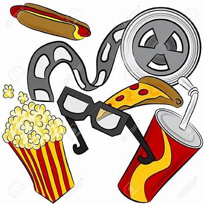 Theater Clipart Concession Drinks Stand Film Drive
