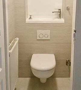 Wc Suspendu Inconvenient : pose d 39 un wc suspendu salles de bain toilettes pinterest wc suspendu suspendu et toilette ~ Melissatoandfro.com Idées de Décoration