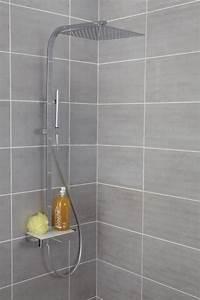 Colonne De Douche Avec Tablette : colonne de douche domino thermostatique envie de salle de bain ~ Melissatoandfro.com Idées de Décoration